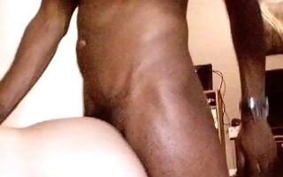 large uncut darksome cock cum in my arse