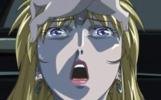 blond anime t-girl receives a deep
